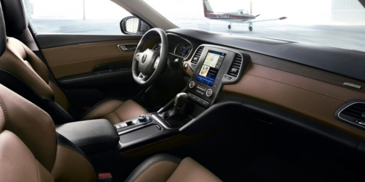Cuadro del interior del Renault Talisman.